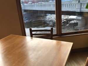 River from dining
