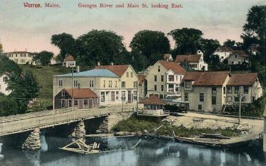 St._George_River_and_Main_Street,_Warren,_Maine
